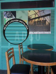 Puerta en restaurante CDMX